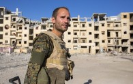 British volunteer fighting in Syria:  I wont go home until ISIS has been defeated